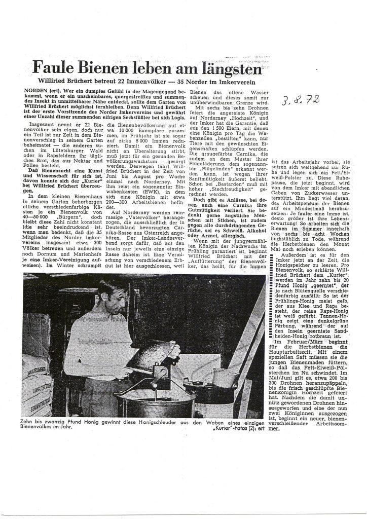 Faule Bienen leben am längsten_1972